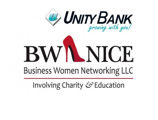 BW NICE Announces Unity Bank as Corporate Sponsor
